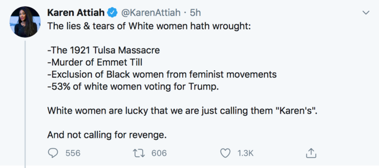 NEWS WAPO Editor To White Women, 'Lucky' We're Not Calling For Revenge