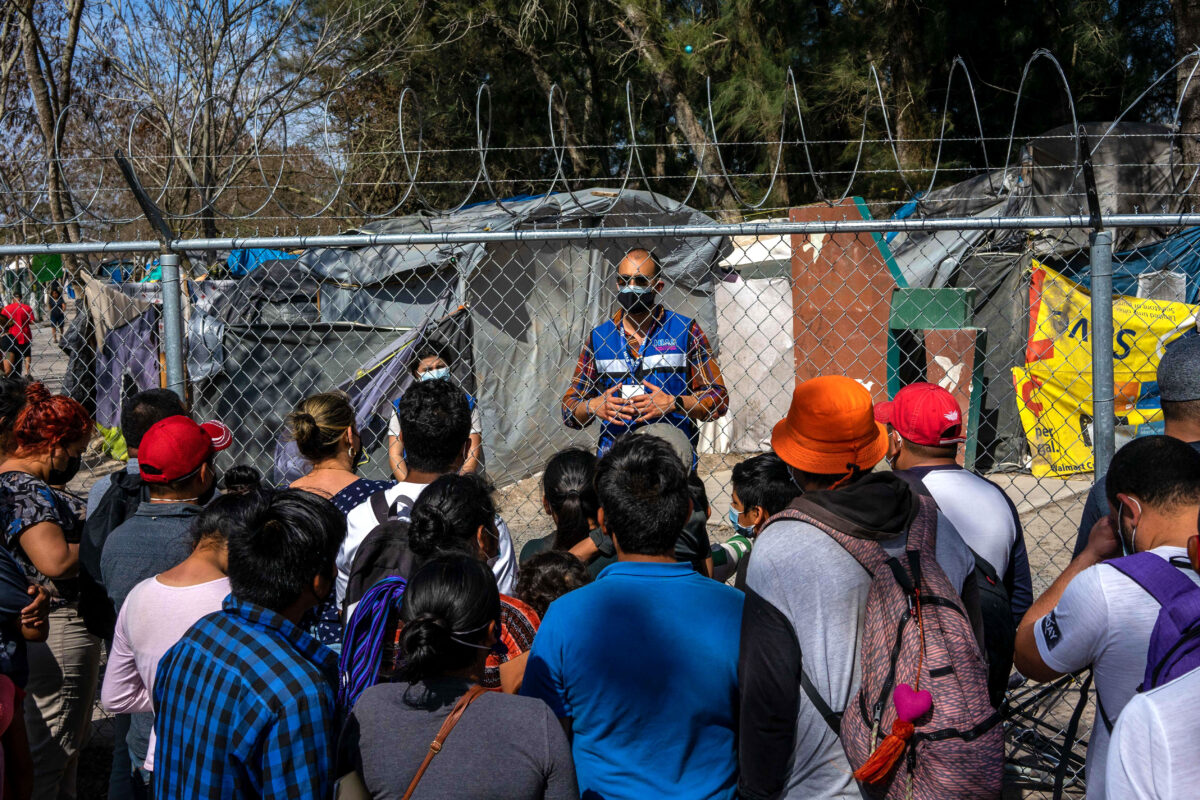 A Migrant Camp Empties As Biden Undoes Trump's 'Remain In Mexico' Policy